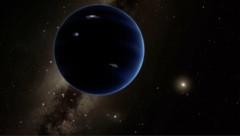 """Künstlerische Illustration: So könnte """"Planet 9"""" aussehen. (Bild: Caltech/R. Hurt (IPAC))"""