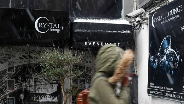 Die Frau, die Chris Brown der Vergewaltigung bezichtigt, lernte ihn ihren Angaben zufolge im Pariser Klub Crystal Lounge kennen. (Bild: AP)