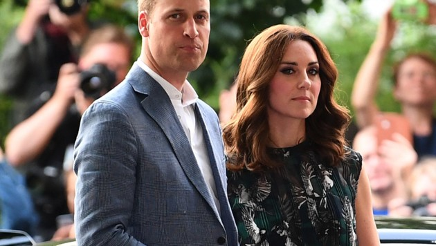 Prinz William und Herzogin Kate (Bild: AFP)