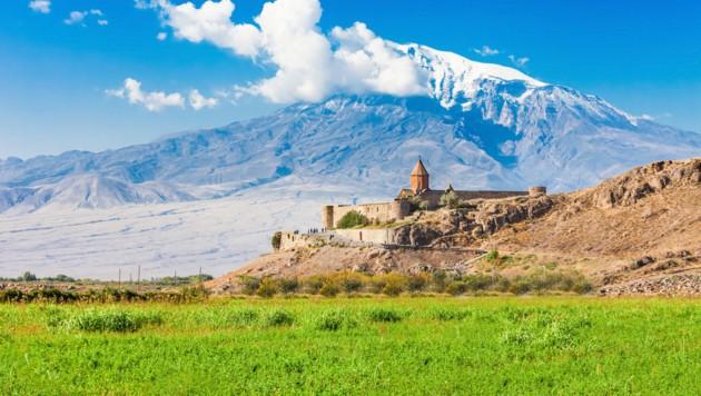 Khor Virap in Armenien (Bild: ©saiko3p - stock.adobe.com)