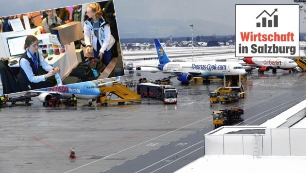 Salzburg Airport (Bild: Krone/Markus Tschepp)