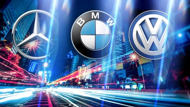 (Bild: Mercedes, BMW, Volkswagen, stock.adobe.com, krone.at-Grafik)