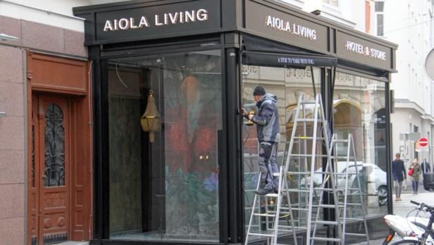 Das Aiola-Hotel in der Grazer Innenstadt wird nächstes Jahr ausgebaut. (Bild: Jauschowetz Christian)