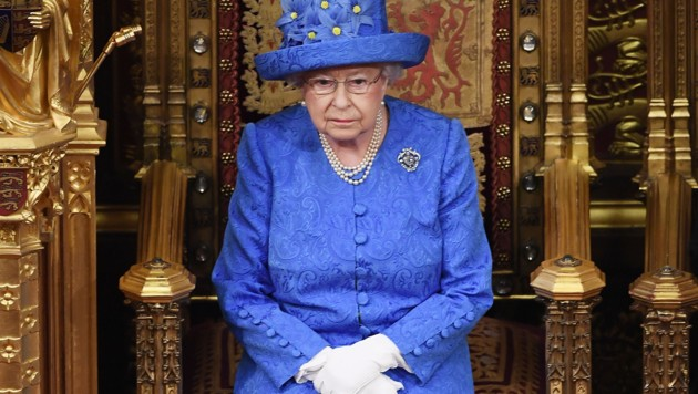 Queen Elizabeth II. (Bild: APA/AFP/POOL/Carl Court)
