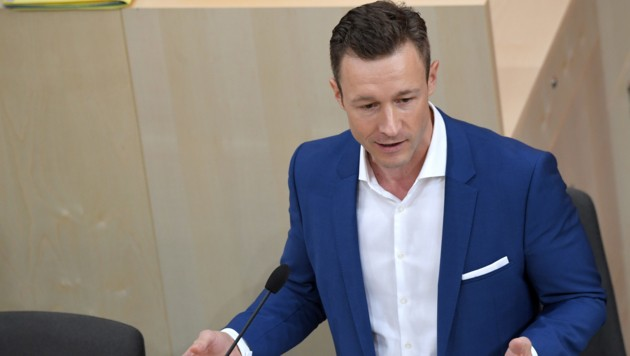 Gernot Blümel (ÖVP) (Bild: APA/ROLAND SCHLAGER)