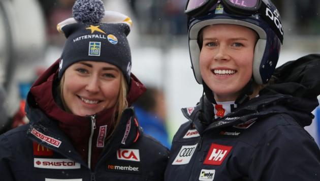 Lin Ivarsson und Lisa Hörnblad (Bild: GEPA)
