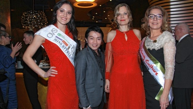 Justine Bullner, La Hong, Monika Wogrolly, Emese Hunyady (Bild: Jauschowetz Christian)