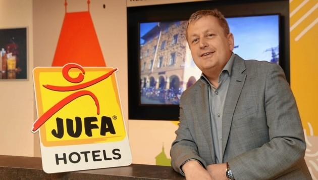 Jufa-Geschäftsführer Gerhard Wendl (Bild: Juergen Radspieler)