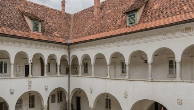 Über den Preis von Schloss Bayerhofen hält man sich bedeckt. (Bild: Bolesch Immobilien)