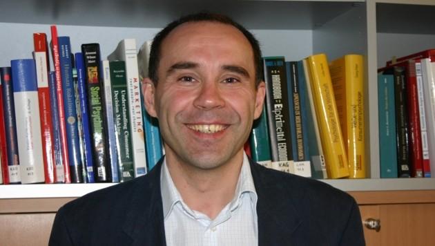 Wirtschaftspsychologe Eduard Brandstätter von der JKU Linz. (Bild: JKU)