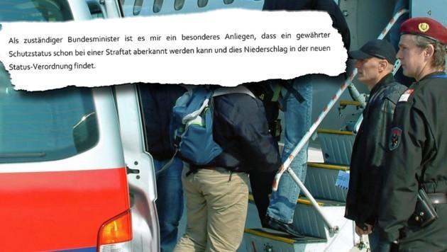 "Kickl-Appell für ""schärfere"" Asylpolitik"