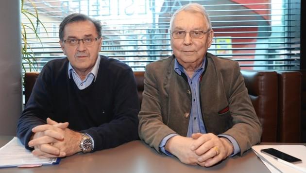 Otmar Hiebaum (links) und Max Taucher vom Gemeindeforum Steiermark (Bild: Juergen Radspieler)