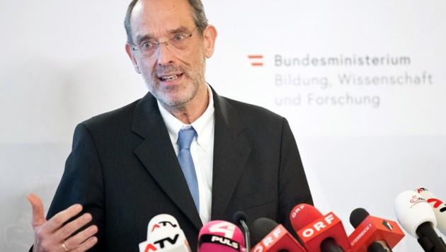 Bildungsminister Heinz Faßmann (ÖVP) (Bild: APA/GEORG HOCHMUTH)