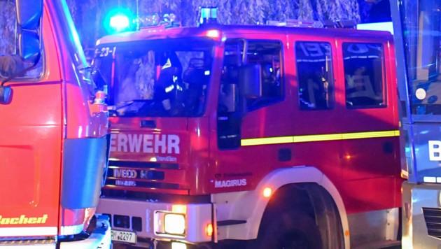 Feuerwehr (Symbolbild) (Bild: APA/AFP/dpa/Patrick Pleul (Symbolbild))