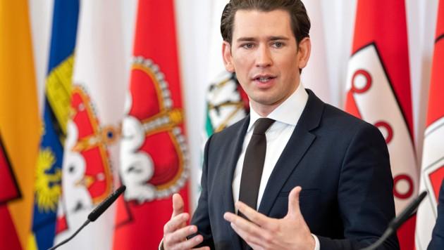 Bundeskanzler Sebastian Kurz (Bild: APA/Georg Hochmuth)