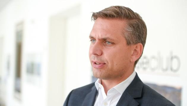 VP-Landesgeschäftsführer Wolfgang Hattmannsdorfer