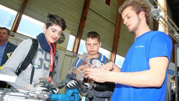 Kärntner Lehrlingsmesse (Bild: Evelyn Hronek Kamerawerk)