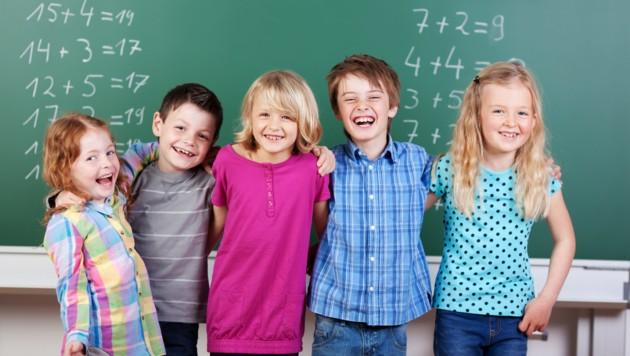 Schule soll Spaß machen! (Symbolbild) (Bild: ©contrastwerkstatt - stock.adobe.com)