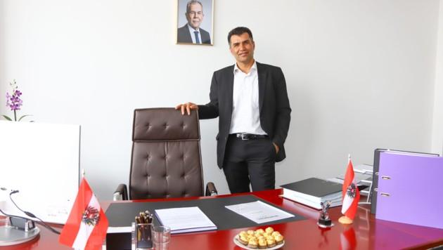 """Der kurdischstämmige Linzer Halil Tasdemir (51) hat von der Türkei endgültig die Nase voll: """"Ich fahre unter dem Erdogan-Regime dort sicher nie mehr hin."""" (Bild: laumat.at / Matthias Lauber)"""