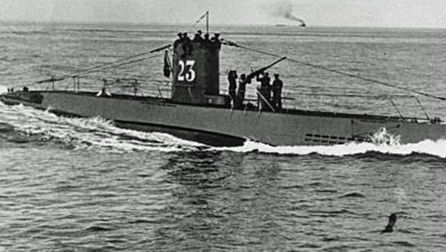 Die U-23 war im Zweiten Weltkrieg im Einsatz (Archivbild). (Bild: Wikiepdia.com)
