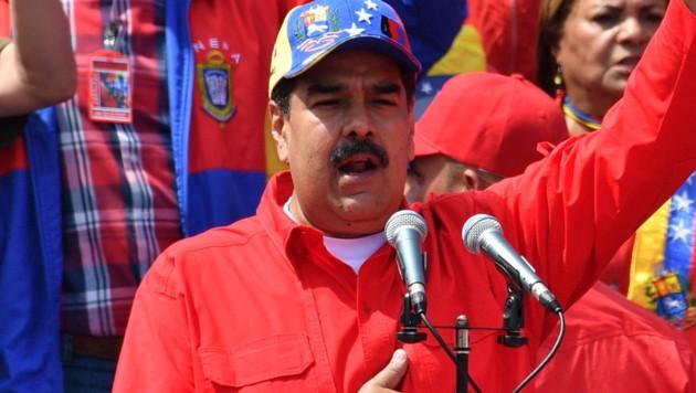 Nicolas Maduro (Bild: APA/AFP/Yuri CORTEZ)