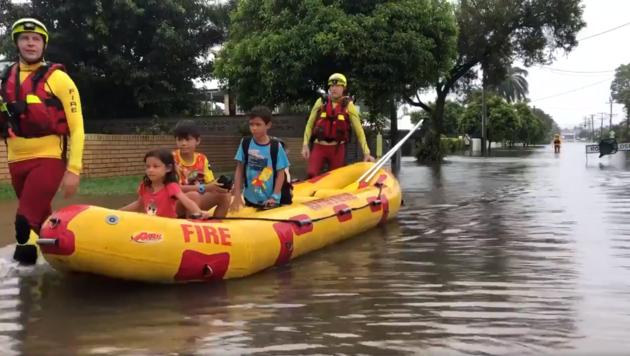 Dauerregen: Australien droht Jahrhundertflut