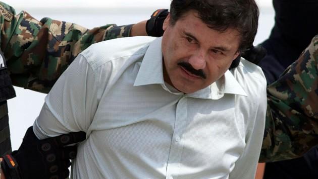 "Joaquin ""El Chapo"" Guzman (Bild: AP)"