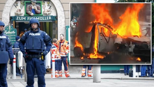 Tödlicher Bombenanschlag nach Mafia-Mord in Wien