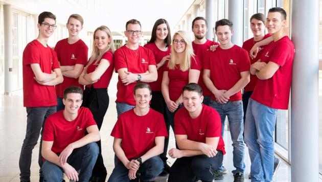 Die steirischen Teilnehmer bei den World Skills 2019 in Kasan (Russland). (Bild: SkillsAustria/Laresser)
