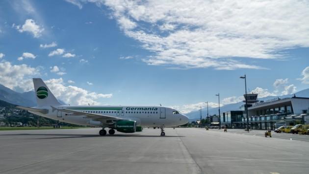 (Bild: Peter Norz/Flughafen Innsbruck)