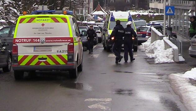 Die Bezirkshauptmannschaft Dornbirn war zum Tatort geworden. (Bild: APA/Maurice Shourot)