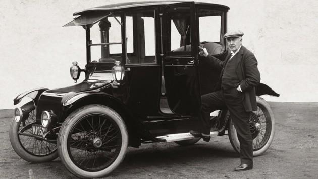 Zu den einst großen Herstellern des frühen Elektroautobooms gehörte Detroit Electric. Zwischen 1906 und 1939 produzierte die Firma vermutlich mehrere Zehntausend Fahrzeuge. (Bild: Detroit Electric)