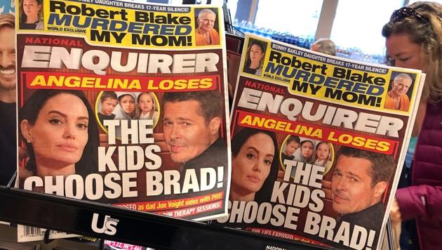 """Der """"National Enquirer"""" ist für seine reißerische Berichterstattung bekannt. (Bild: 2018 Getty Images)"""