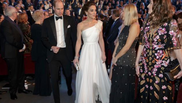 Herzogin Kate stahl bei den Baftas allen die Show. (Bild: AP)