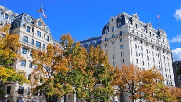 """Das """"Willard"""" gilt als bestes Hotel Washingtons. (Bild: Brandl Gregor/Kronenzeitung)"""