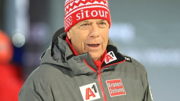 ÖSV-Boss Peter Schröcksnadel erwartet von seinen Schützlingen sechs bis acht Medaillen bei der Ski-WM 2021. (Bild: GEPA)