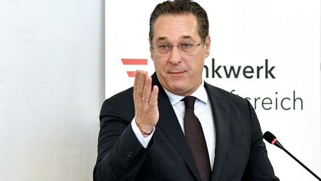 """Straches Thinktank """"Denkwerk zukunftsreich"""" steht"""