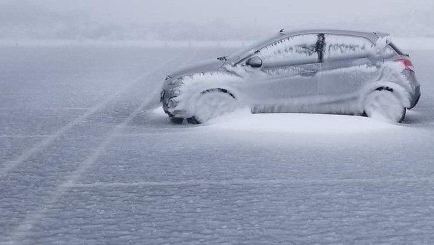 Auf Hawaii schneite es so tief wie noch nie!