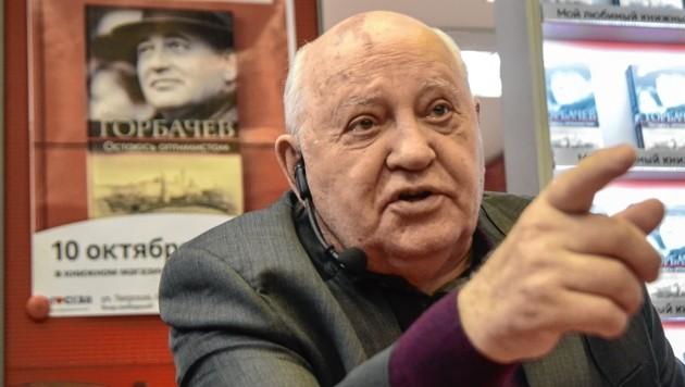 Michail Gorbatschow (Bild: AFP)