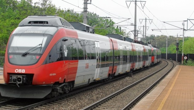 Im Zug dürfte der Demenzpatient von Ried nach Passau gelangt sein (Bild: KRONEN ZEITUNG)