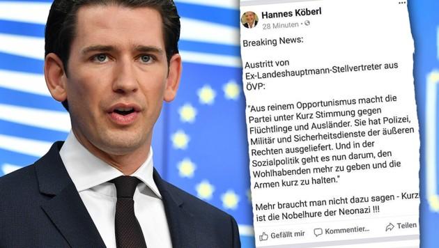 """SPÖ-Politiker: """"Kurz ist Nobel**** der Neonazis"""""""