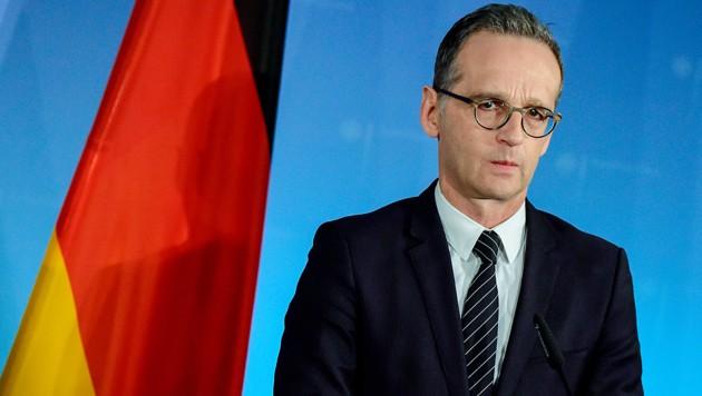 Deutschlands Außenminister Heiko Maas (Bild: AFP)