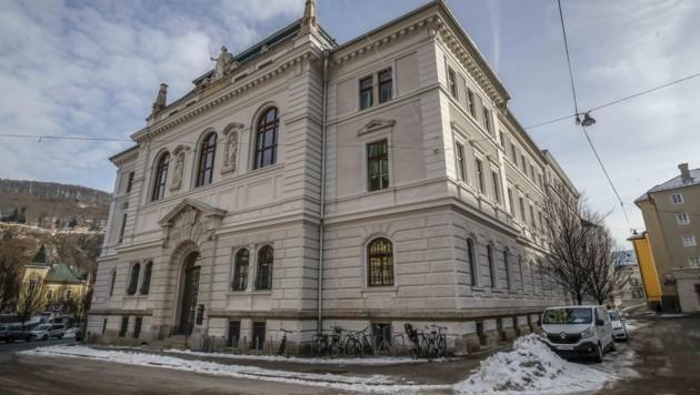 Das Justizgebäude in der Salzburger Altstadt (Bild: Tschepp Markus)