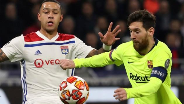 Nullnummer Lyon Ertrotzt 0 0 Gegen Barcelona Krone At