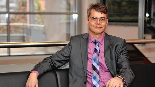 Superintendent Wolfgang Rehner