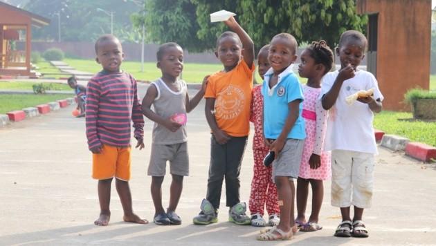 Kinder in Not erhalten im SOS-Kinderdorf von Abobo-Gare nicht nur ein Zuhause, sondern auch Schulbildung. (Bild: Sebastien Taylor/SOS International)