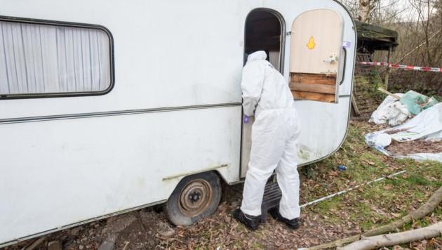 """Auf dem Gelände des Campingplatzes """"Eichwald"""" sollen mindestens 31 Kinder missbraucht worden sein. (Bild: APA/dpa/Christian Mathiesen)"""