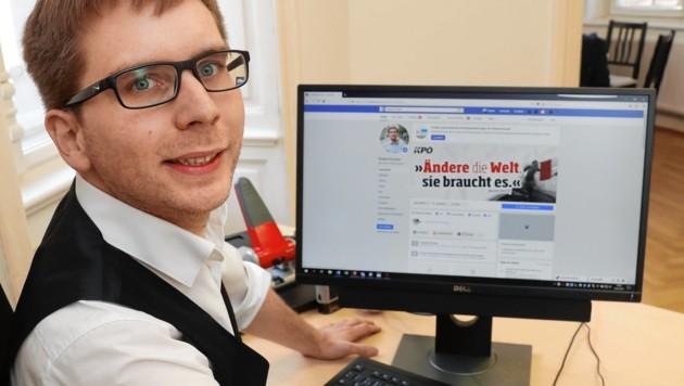 Robert Krotzer - kein steirischer Politiker postet mehr auf Facebook (Bild: Juergen Radspieler)