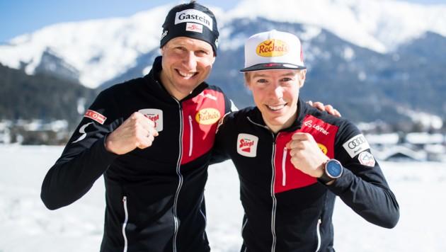 Bernhard Gruber und Franz-Josef Rehrl (Bild: GEPA)