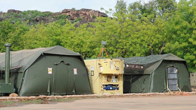 Das Feldspital der EU-Trainingsmission in Koulikoro (Bild: Bundesheer/Gunter Pusch)